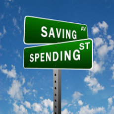 spending and savings in budget